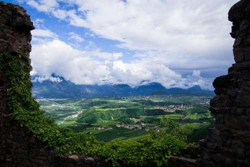 South Tyrol Italy Dolomites Mountains Alpine