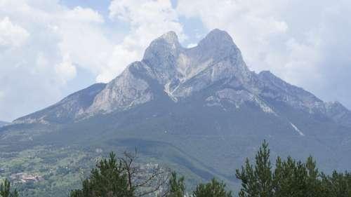 Spain Pedraforca Mountains Mountain Mountaineering