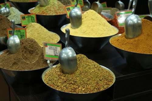 Spice Barrel Market Sales