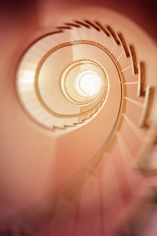 Spiral Staircase Gradually Stairs Architecture