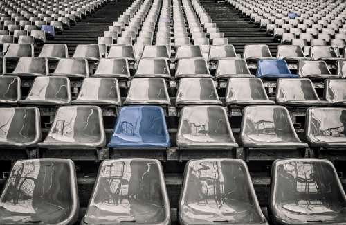 Stadium Rows Of Seats Grandstand Sit