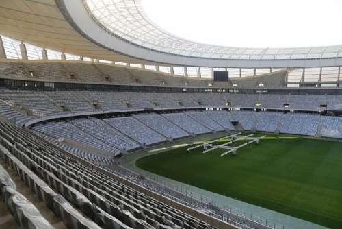 Stadium Football Stadium Rows Of Seats Sit