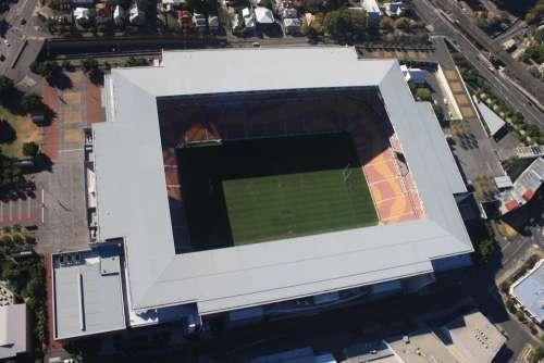 Stadium Brisbane Aerial View Sport