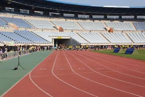 Stadium Exercise Running Game Playground