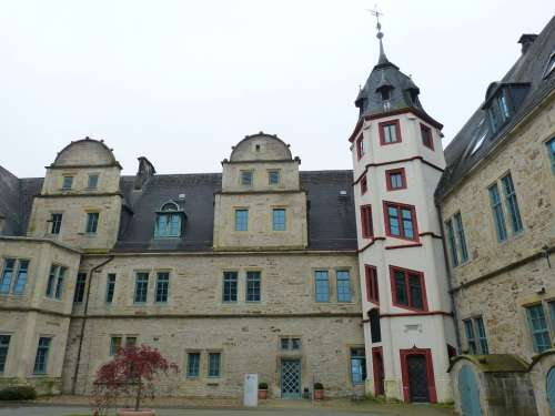 Stadthagen Lower Saxony Historic Center Historically