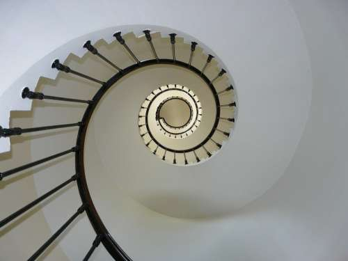 Staircase Snail Lighthouse Architecture Structure
