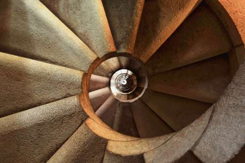 Staircase Spiral Architecture Interior Building