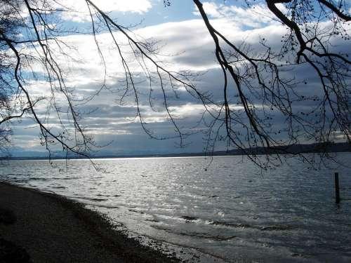 Starnberger See Water Bank Lake