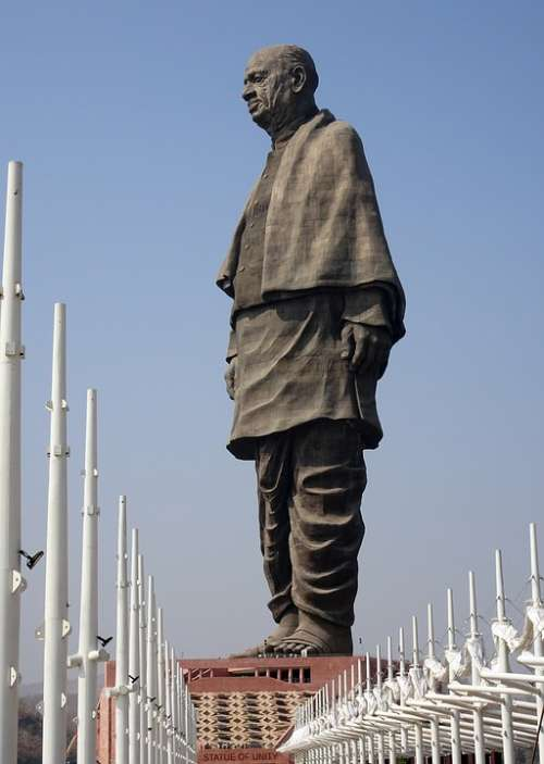 Statue Patel Sardar Unity Statue Of Unity Tallest