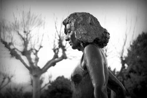 Statue Women Figure Girl Beautiful Mystic