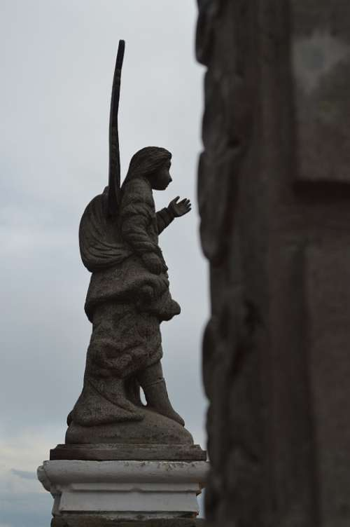 Statue Angel Church