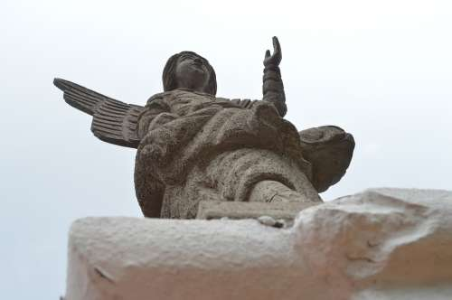 Statue Angel Church
