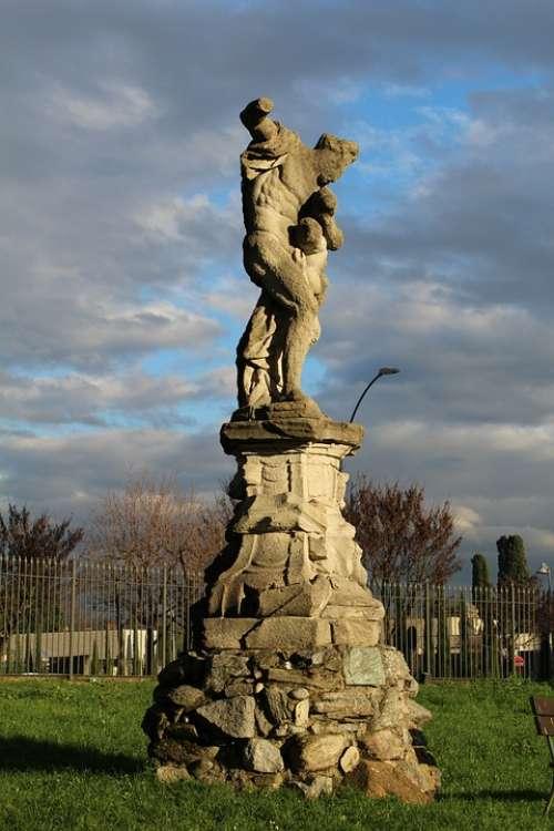 Statue Of Hercules Merate Italy Hercules Statue