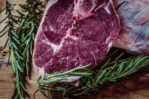 Steak Meat Beef Food Juicy Steak Dinner Sirloin