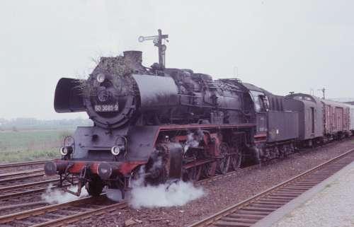 Steam Locomotive Reichsbahn Br 50 Train Nostalgic