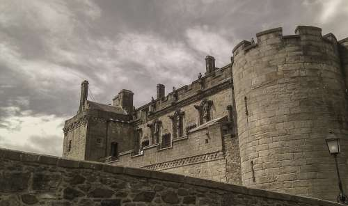 Stirling Castle Scotland Stirling Castle Grey