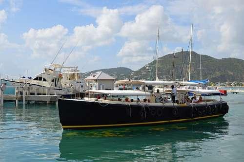 Stmartin Caribbean Cruise Water Taxi
