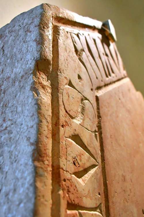 Stone Carved Stone Statue Faktúra Texture Ancient