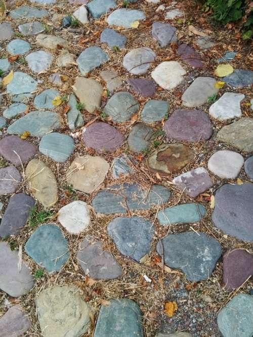 Stone Path Walkway Rocks Footpath Nature