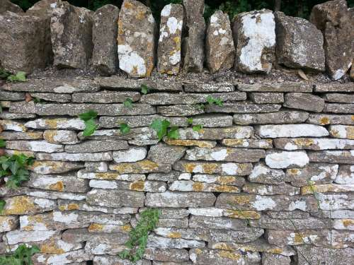 Stone Wall Natural Old Texture Pattern Rough