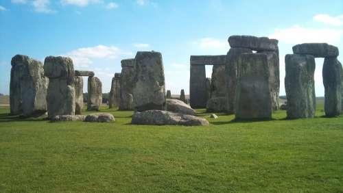 Stone Henge England History Ancient Uk Stone