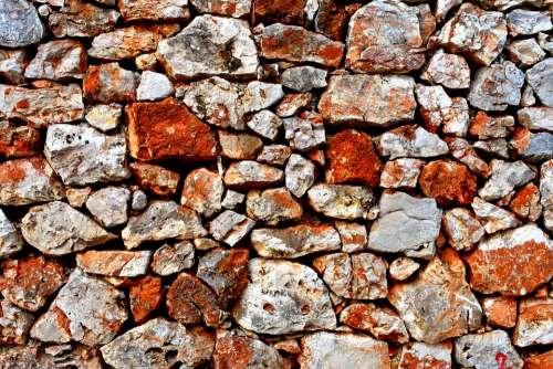 Stone Wall Wall Drywall Stone Rock Masonry