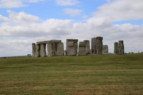 Stonehenge England Hut Ancient Britain Landmark