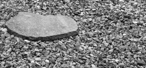 Stones Pebbles Rock Gravel Bed Material Header