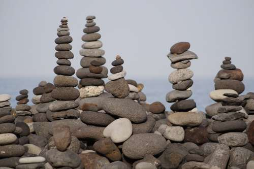 Stones Stone Art Cairn