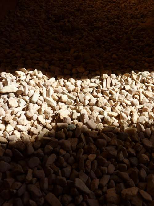 Stones Light Shadow Structure Nature