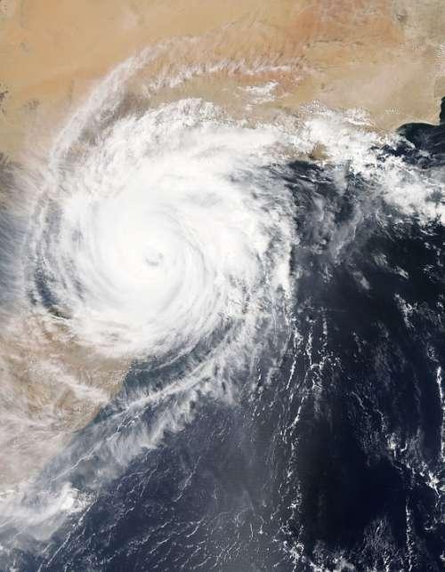 Storm Hurrican Ocean Shore Weather Disaster