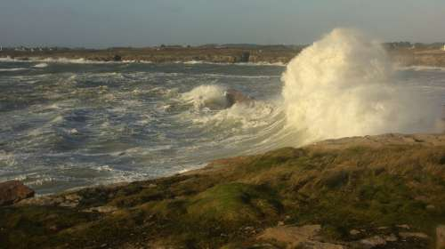 Storm Brittany Sea