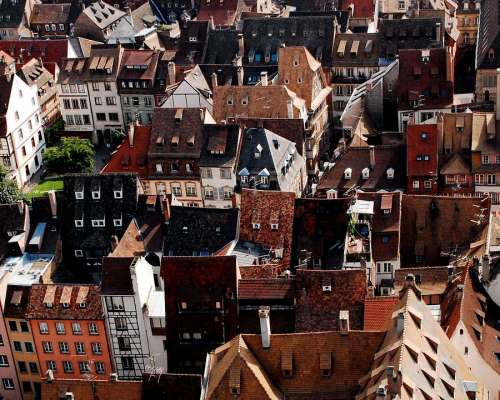 Strasbourg Roofs Brown