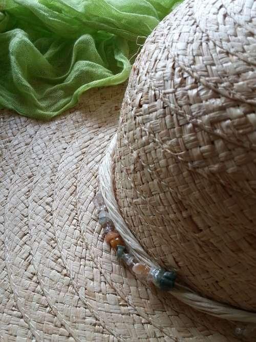 Straw Hat Hat Headwear