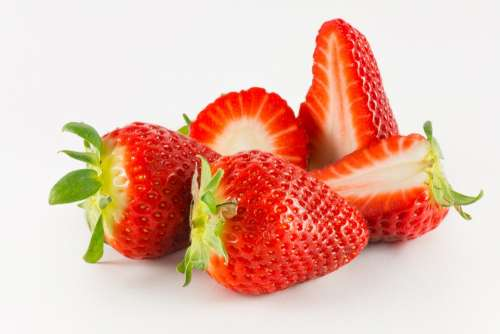 Strawberries Fruit Food Red Sweet Delicious