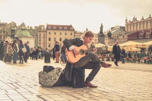 Streets People Music Musician Street Art