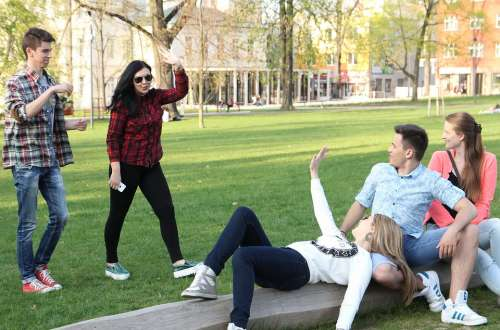 Study Education Friendship Czechia Young People