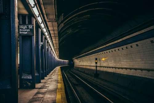 Subway Underground City Manhattan Metro Commute