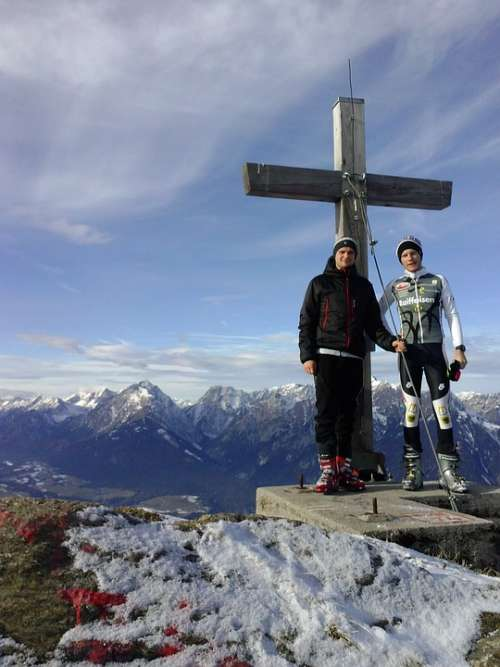 Summit Cross Summit Backcountry Skiiing Winter Guys