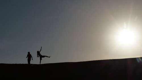Sun Desert Oman Dune