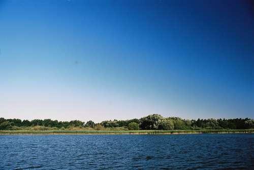 Sun Lake Reed Landscape Water