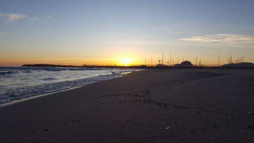 Sunrise Beach Sea