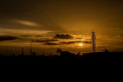 Sunset Cloud Sunrise Cloudy