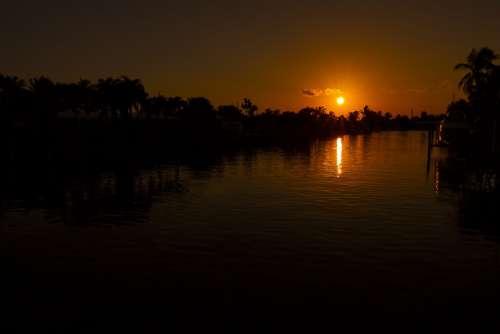 Sunset Sunsets Floridasunset Landscape Nature Sky