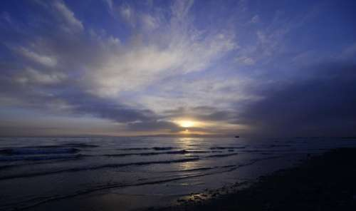 Sunset Beach Wind