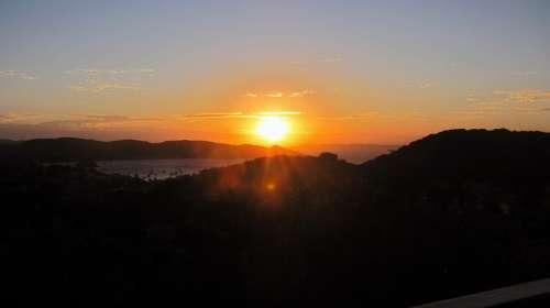 Sunset Afternoon Eventide Sol Sky Finale Summer
