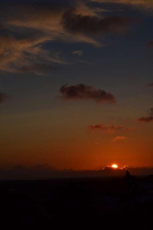 Sunset Cadiz Andalusia