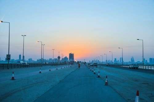 Sunset Sundown Bahrain