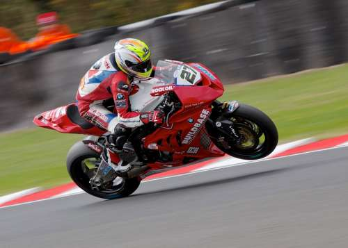 Superbike Motorsport Fast Speed Red Track Race