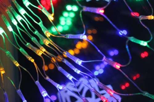 Swag Light Lights Christmas Lighting Holiday